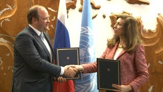 Download Interview with PhosAgro representatives Siroj Loikov and Irina Bokova Video