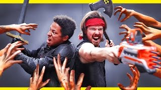 Download Brothers 'til Death (NERF Zombies) Video