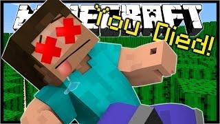 Download 11 WAYS TO DIE IN MINECRAFT!   Minecraft Custom Map Video