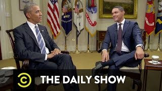 Download Barack Obama - Navigating America's Racial Divide: The Daily Show Video