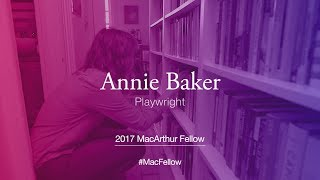 Download Playwright Annie Baker | 2017 MacArthur Fellow Video