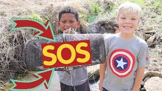 Download Rescuing Tons of Fish From Dried Up Creek!! (Rescue Mission) Video
