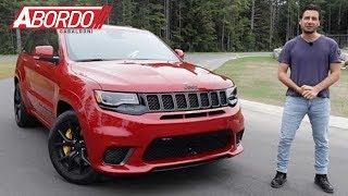 Download Jeep Grand Cherokee Trackhawk 2018 - Prueba A Bordo Completa Video
