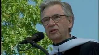 Download Fred Rogers' 2002 Dartmouth College Commencement Address Video