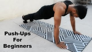 Download How to do Push-Ups For Beginners : Best Step-By-Step Guide Video