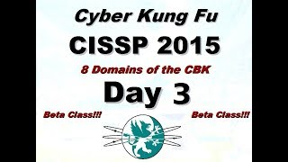 Download Larry Greenblatt's 8 Domains of CISSP - Day 3 (From 2015) Video