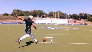 Download Free Agent kicker nails 80 yard field goal like it is NOTHING Video