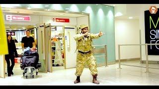 Download British Soldier Returning Home Video