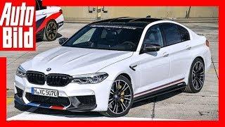 Download BMW M5 (SEMA 2017) Das optische M-Performance-Paket Details/Erklärung Video