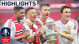 Download Crystal Palace 1-2 Manchester United (2015/16 Emirates FA Cup Final) | Goals & Highlights Video