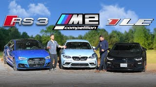 Download Audi RS3 vs BMW M2 Competition vs Camaro SS 1LE - Is There An Answer? Video