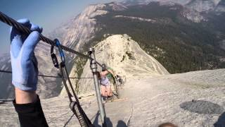 Download Descending The Cables At Half Dome Video