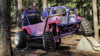 Download The CRF450 Barbie Jeep Is Finished! Painting and Final Look. Video