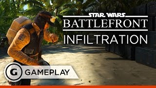 Download New Infiltration Mode Gameplay - Star Wars Battlefront Rogue One: Scarif DLC Video