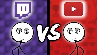 Download Twitch Gamers VS YouTube Gamers Video