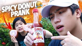 Download Spicy Donut Prank On Sister! | Ranz and Niana Video