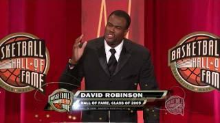 Download David Robinson's Basketball Hall of Fame Enshrinement Speech Video
