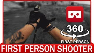 Download 360° VR VIDEO - REAL FIRST PERSON SHOOTER | The Mission 1: Briefcase | FPS Softair Airsoft War Video