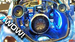 Download Amazing Fiberglass Car Audio Installations w/ Beautiful Looking CUSTOM Show Cars & BASS Installs Video