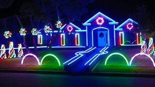 Download 2015 Johnson Family Dubstep Christmas Light Show - Featured on ABC's The Great Christmas Light Fight Video