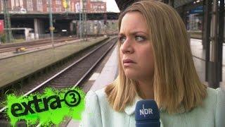 Download Jasmin mit einem typischen Bahnstreik-Bericht | extra 3 | NDR Video