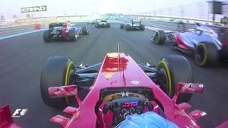 Download Alonso's Lightning First Lap | 2012 Abu Dhabi Grand Prix Video