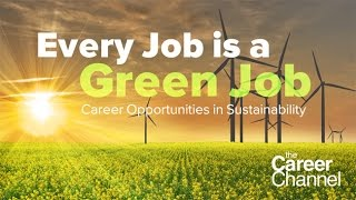 Download Career Opportunities in Sustainability Video