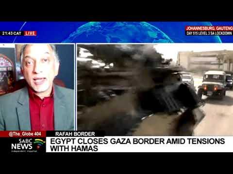 Latest developments in Rafah border crossing to Gaza: Na'eem Jeenah