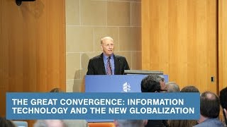 Download The Great Convergence: Information Technology and the New Globalization Video