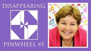 Download The Disappearing Pinwheel 5 TWIST Quilt: Easy Quilting Tutorial with Jenny Doan of Missouri Star Video