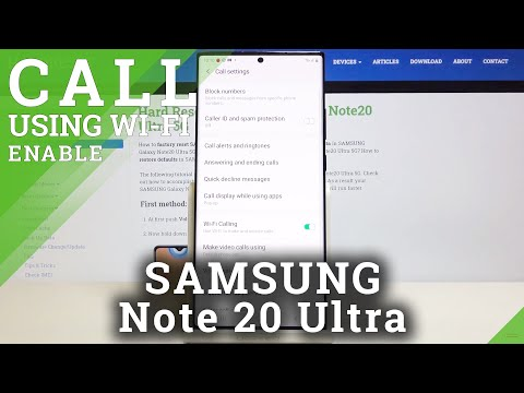 How to Enable Wi-Fi Calling in SAMSUNG Galaxy Note 20 Ultra – Call Using Wi-Fi