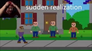 Download FNAF Memes   Markiplier Reactions to Purple Guy! + GOLDEN FREDDY ENDING! (Sister Location FNAF) Video