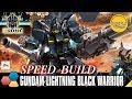 Download [SPEED BUILD] HGBF 1/144 Gundam Lightning Black Warrior By Tid-Gunpla Video