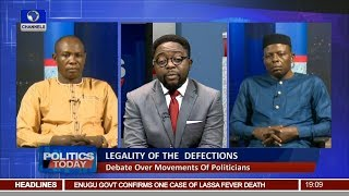 Download Mudslinging As APC,CUPP Spokesmen Face-off Over Defection, Boast Of 2019 Wins Pt.1 |Politics Today| Video