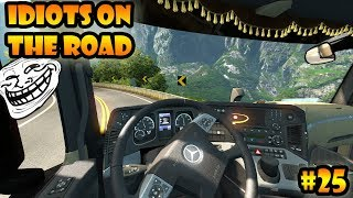Download ★ IDIOTS on the road #25 - ETS2MP   Funny moments - Euro Truck Simulator 2 Multiplayer Video