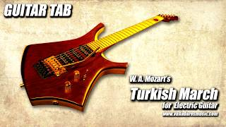Download Turkish March, for electric Guitar - TAB / Marcha Turca Video