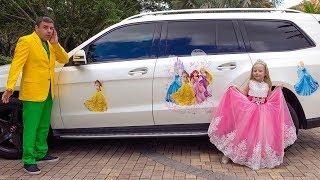 Download Настя как принцесса собирается на бал Video