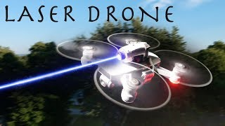 Download This DIY Laser Drone Is INSANELY POWERFUL! - Hunting With a Drone!!! Video