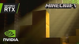 Download Minecraft with RTX   Official GeForce RTX Ray Tracing Reveal Trailer Video