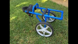 Download Wheelchair for Dogs - using PVC Video