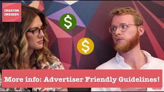 Download **UPDATED** Even MORE clarity around Ads Friendly Guidelines Video