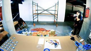 Download Universidad de la Comunicación presenta el Mural de Ari Collage en el Mercado de San Genaro Video