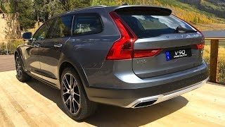 Download 2017 Volvo V90 Cross Country WORLD PREMIERE FIRST TECH REVIEW Video