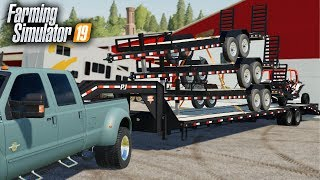 Download FS19- TRAILERS FOR SALE! BUILDING A TRAILER DEALERSHIP NEXT TO ROLLING COAL CUSTOMS! Video