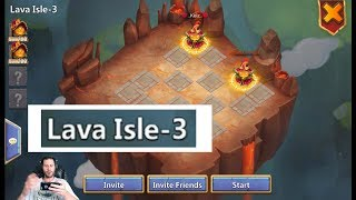 Download TWO Man Lava Isle 3 SERIOUSLY!! Must Watch Castle Clash Video