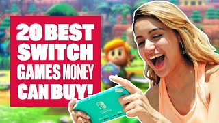 Download 20 Of The Best Nintendo Switch Games Money Can Buy! Video