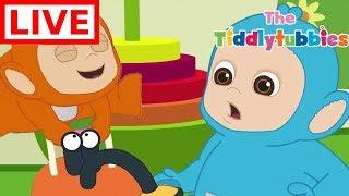 Download Teletubbies LIVE ★ NEW Tiddlytubbies 2D Series ★ Episodes 7-9 Tiddlytubbies Party★ Cartoon for Kids Video