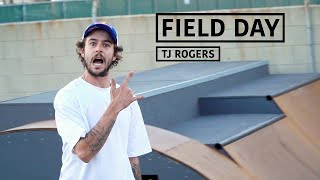 Download A Day with Pro Skateboarder TJ Rogers | FIELD DAY Video