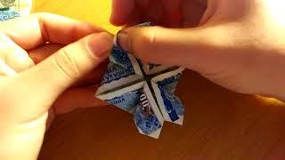 Download Gấp cỏ 4 lá từ tiền giấy cực nhanh cực đơn giản Video