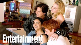 Download 'Riverdale' Cast Tease Season 2 Details Behind The Scenes | Cover Shoot | Entertainment Weekly Video